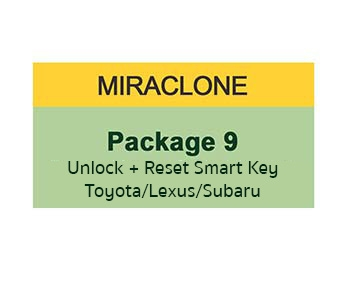 MiraClone - Package 9 Toyota/Lexus/Subaru Smart key Reset
