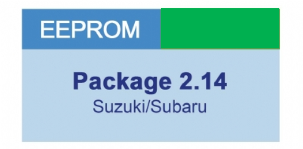 MiraClone - Eeprom Package 2-14 Suzuki, Subaru Cars - 16 modules