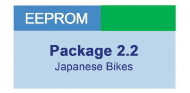 MiraClone - Eeprom Package 2-2 Japanese Motorcycles - 7 modules
