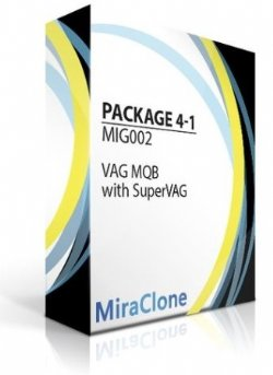 VAG MQB Precoding using MiraClone and SuperVag