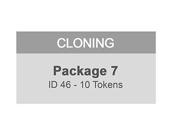 MiraClone - Cloning Package 7 ID46 - Tokens 25