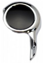 Citroen Disc key cap Chrome and Black