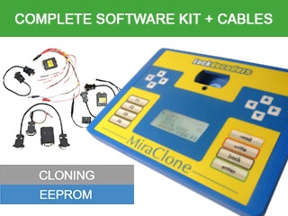 MiraClone Complete Software Kit + Cables