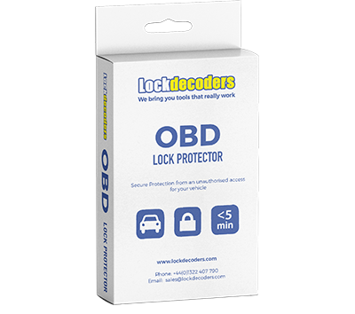 OBD Lock Protector with 2 keys