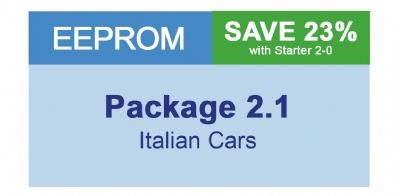 MiraClone - Eeprom Package 2-1 - Italian cars 11 Modules
