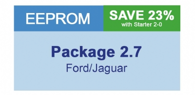MiraClone - Eeprom Package 2-7 Ford/Jaguar - 32 modules