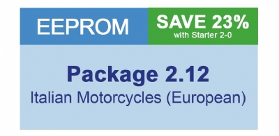 MiraClone - Eeprom Package 2-12 Italian Motorcycles - 22 modules