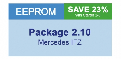 MiraClone - Eeprom Package 2-10 Mercedes IFZ - 3 modules