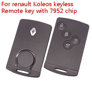 Renault 2009-2015 4 button card not handsfree for Laguna 3 and Megane 3, Koleos etc