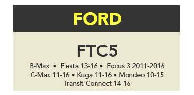 Truecode - FTC5 Software Update (Ford)