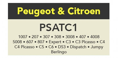 TrueCode - PSATC1 Software Update (Peugeot & Citroen)