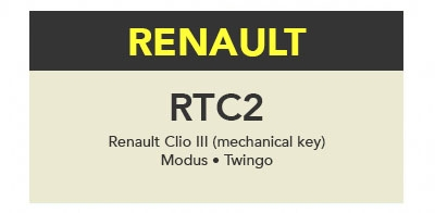TrueCode - RTC2 Software Update (Renault)