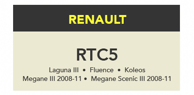 TrueCode - RTC5 Software Update (Renault)
