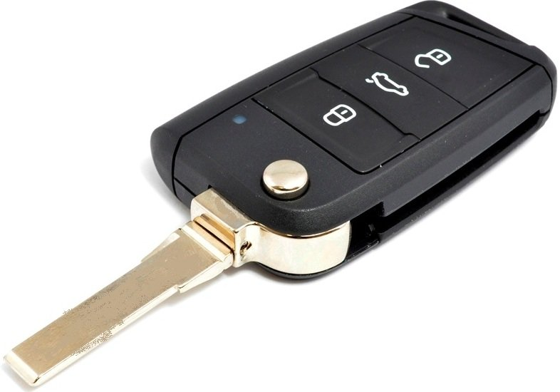 VW Golf 7/ Polo etc MQB 3 Button Remote Key HU66 OEM